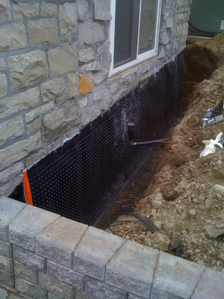 Stone Foundation Repair